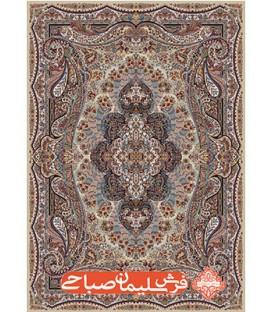 فرش ماشینی ایرانی 700 شانه نقشه آبتین