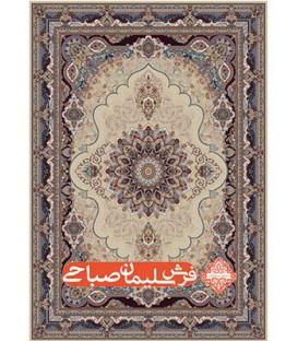 فرش ماشینی 700 شانه طرح آریا مهر