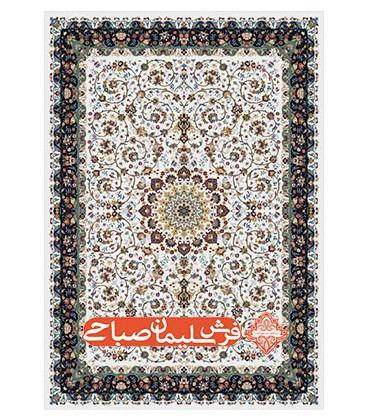 فرش ماشینی 700 شانه طرح گل نقش
