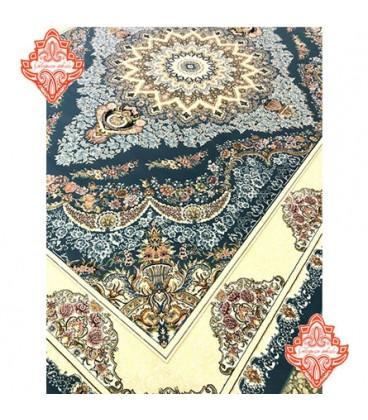 فرش برجسته طرح صنم آبی