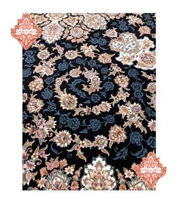فرش برجسته طرح طاها سورمه ای