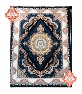 فرش برجسته طرح صنم سورمه ای