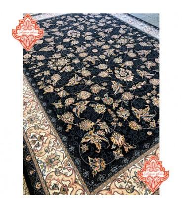 فرش برجسته طرح افشان شهریار سورمه ای