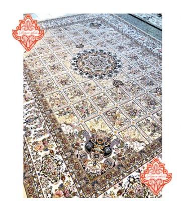 فرش برجسته طرح گلسا صدفی