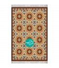 گلیم فرش ایرانی رولی کد 137 طرح ارغوان