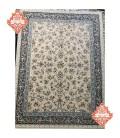 فرش 1200 شانه طرح افشان بهشت دلفینی حاشیه کاربنی
