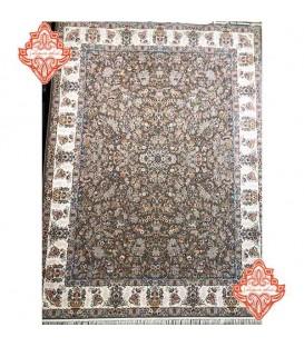محبوب تریت فرش ماشینی 1200 شانه افشان رزا طوسی
