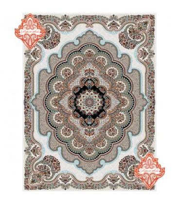 فرش ماشینی سرای ایرانی700 شانه باغ ملک