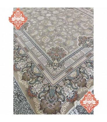 محبوب تریت فرش ماشینی کمند ۱۲۰۰شانه گل برجسته