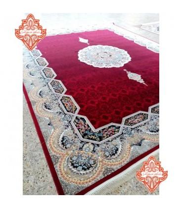 بهترین فرش ماشینی کاشان طرح هالیدی لاکی