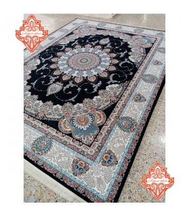 فرش جدید طرح محیا صدفی ۷۰۰شانه گل برجسته