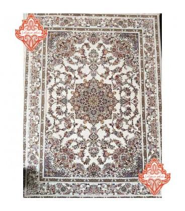 بهترین تخته فرش 700 شانه طرح فرش کد1016کرم