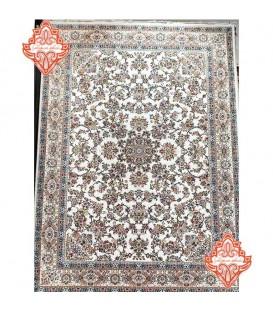 بهترین فرش برجسته طرح کد1012کرم