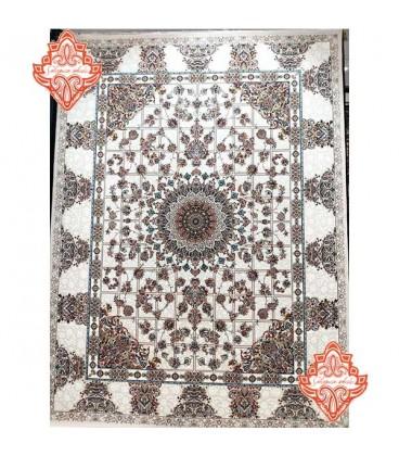 محبوب ترین فرش کاشان طرح کد1011کرم
