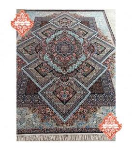 بهترین برند فرش ماشینی طرح آرزو ابی