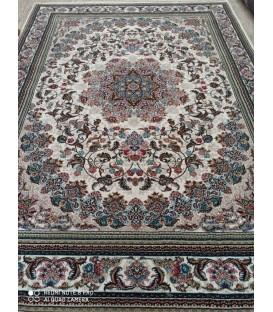 محبوب ترین فرش کاشان طرح میخک کرم