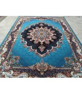 محبوب ترین فرش کاشان طرح نیلا آبی