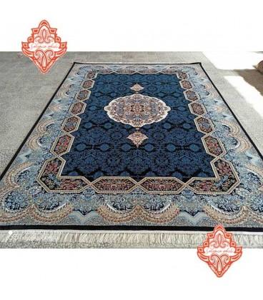محبوب ترین فرش کاشان طرح هالیدی سرمه ای