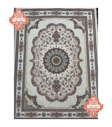 فرش برجسته طرح صنوبر صدفی