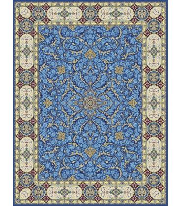فرش 1200 شانه گل برجسته طرح افشان اسلیمی