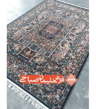 فرش 500 شانه طرح باغ ارم