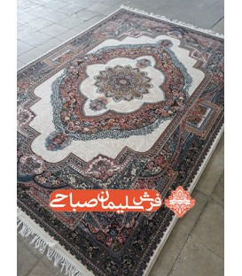 فرش 500 شانه طرح باغ معلق