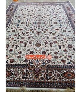 فرش ماشینی افشان اصفهان کرم