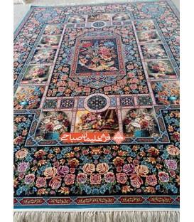 فرش ماشینی باغ ارم کاربنی